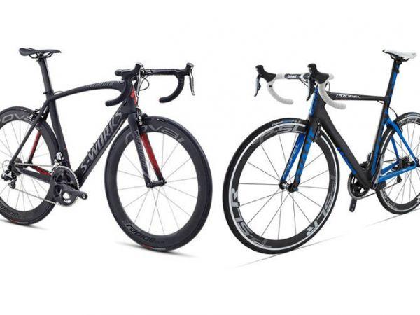 Qual bike é mais aerodinâmica, a Giant ou a Specialized    MTB Brasília 17e1e32f69