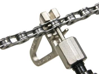 A chave de corrente permite a correta montagem/desmontagem da mesma