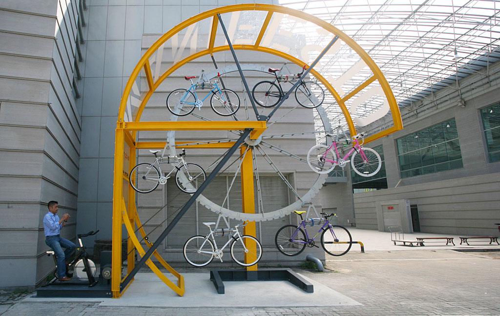 Manifesto Architecture Bike Hanger