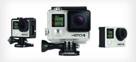 Nova câmera GoPro Hero 4 terá filmagem em 4k e tela de controle touchscreen