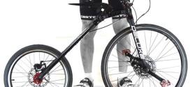 MC2, a bicicleta-conceito dobrável que permite até 8 configurações de uso