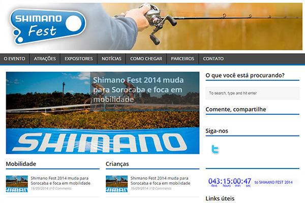 Site oficial do Shimano Fest