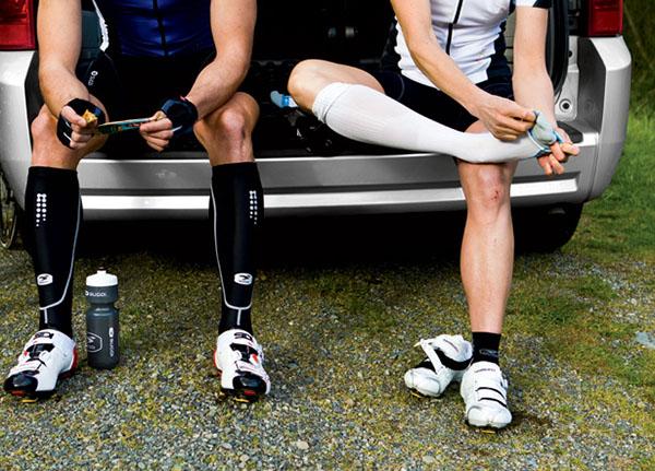 be9aec40188e0 Quais os benefícios das polainas e meias de compressão no ciclismo ...