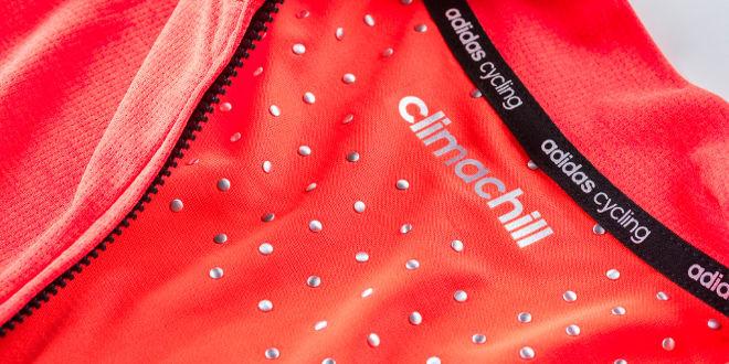 e93ee80cf88cb Adidas lança camisa de ciclismo com nova tecnologia de tranferência térmica