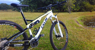 Bicicleta MTB full suspension Caloi Elite FS