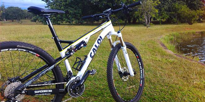 fb4d19533 Bicicleta MTB full suspension Caloi Elite FS