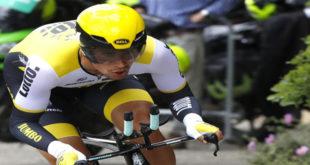 2275760d5aa25 Fabian Cancellara apresenta evolução e sobe ao segundo lugar na  classificação geral O ciclista eslovaco Primoz Roglic