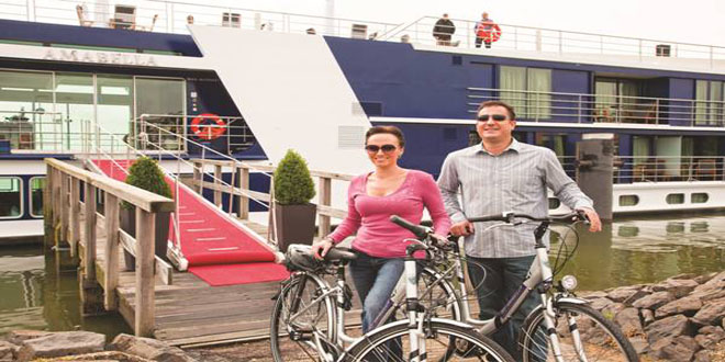 0bcac9751c Empresa de turismo combina cruzeiros pelos rios da Europa com cicloturismo