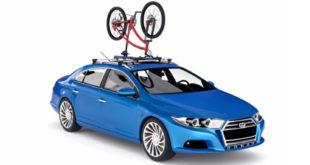 Upside, o compacto suporte para bicicletas que cabe na sua mochila