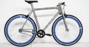 Erembald, a bicicleta com tubulação recortada a laser feita sob medida para o ciclista