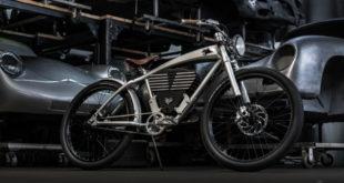 Outlaw Tracker, a bela (e caríssima!) e-bike inspirada no clássico Porsche 356