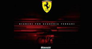 Bianchi se une à Ferrari para a criação de bicicletas de alta performance