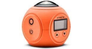 Atrio lança câmera esportiva 360° com óculos de realidade virtual