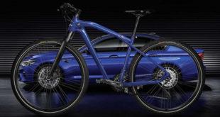 BMW lança edição limitada de bicicleta comemorativa ao lançamento de seu sedã M5 2018