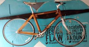 Britânico cria bicicleta que utiliza madeira reaproveitada como matéria-prima