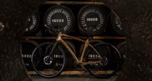 Glenmorangie Original, a bicicleta feita de ripas de barris de uísque escocês