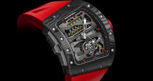 Richard Mille RM 70-01 Tourbillon, o relógio de pulso para ciclistas milionários