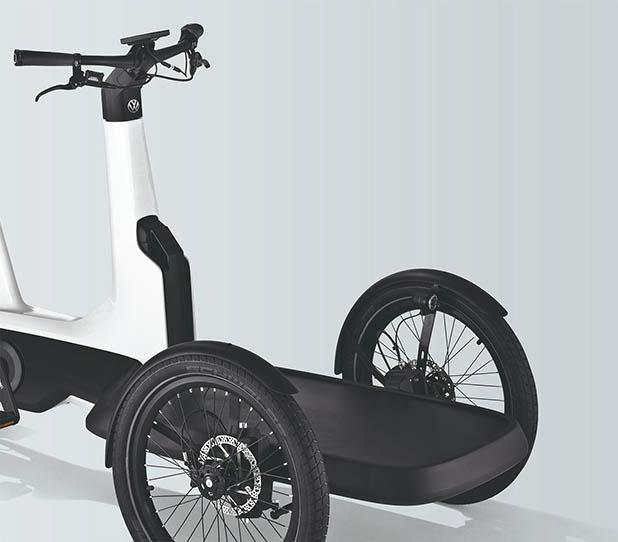 volkswagen cargo e bike mtb bras lia. Black Bedroom Furniture Sets. Home Design Ideas